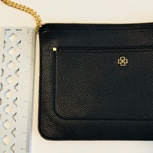 Ann Taylor Bags - Ann Taylor Black Leather Clutch